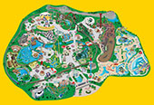 Six Flags Park Maps